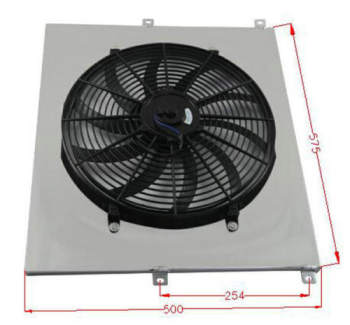 Radiator Shroud Fan For 1953-1956 FORD F350 F250 F100 TRUCK