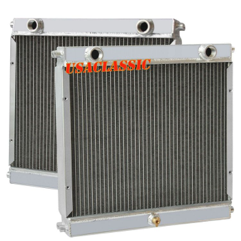Tube Core Double Pass Dragster Roadster Radiator