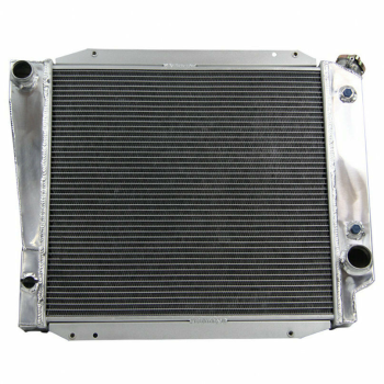 4 ROWS ALUMINUM RADIATOR For 1966-1977 FORD BRONCO WAGON/ ROADSTER 5.0 V8 MT
