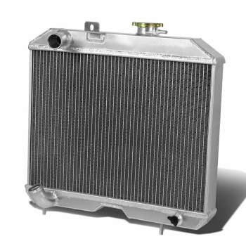 4 Row Racing Aluminum Radiator For Jeep Willys MB,M38,CJ-2A,/ Ford GPW 1941-1952