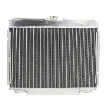 4 Row Aluminum Radiator 68-69 Ford Mustang 67-70 Mercury Cougar XR-7 V8 4.7-5.8