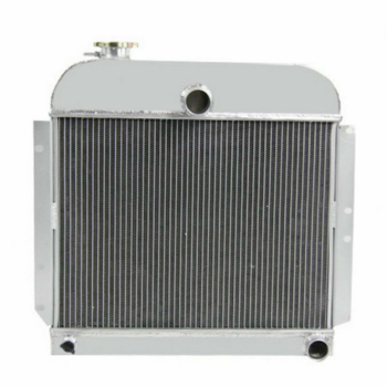 For 1941-1953 43 45 47 49 51 Plymouth Cars 3.3L 3.6L 3.8L L6 GAS 4 Row Radiator