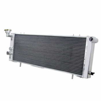 3 Row Aluminum Radiator For 1987-2001 88 Jeep Cherokee Comache XJ Off Road