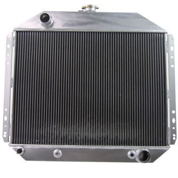 4 Row Aluminum Radiator For 68-79 Ford F-100 F-150 F-250 F-350 6 Cyl L4 V6 Gas