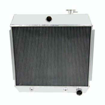 3 Row Aluminum Radiator For Chevy Bel Air / Nomad V8 Engines 1955 1956 1957 USA