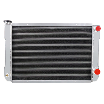 "Double Pass Crossflow Racing Aluminum Radiator Fit 31""x19"" Heavy Duty GM Style"