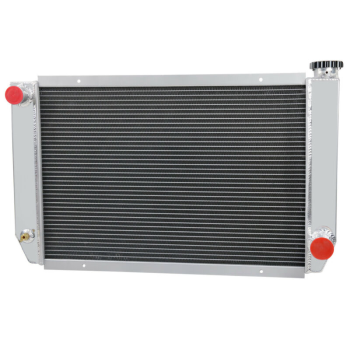 2 Row Racing Aluminum Radiator FIT Chevy/GM-Style Heavy Duty Crossflow USA