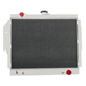 2 Rows Aluminum Radiator For 80-93 Dodge D&W Pickup/Ramcharger 5.2 5.9 V8 AAP