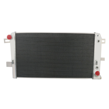 2Row Aluminum Radiator For 2001-05 Silverado Sierria 2500HD 3500HD Duramax 6.6L