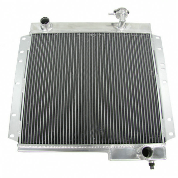 4 Row Aluminum Radiator For 1970-1980 79 Toyota Land Cruiser FJ40 FJ45 3.9L 4.2L
