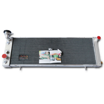 ASI 4 ROW Aluminum Radiator FOR 91-01 Jeep Cherokee XJ 2.5L 4.0L Off Road AT/MT
