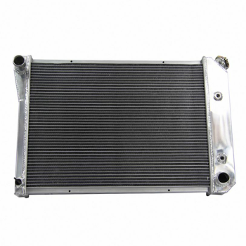 2 Row Aluminum Radiator For 1973-74 Chevy Nova, Olds Omega Pontiac Ventura L6/V8