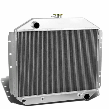 2 Row Aluminum Radiator For 68-79 Ford F100 F150 F250 F350 Pickup Bronco L6 V8