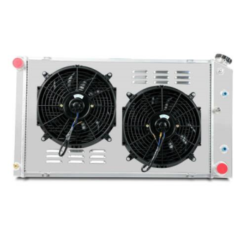 3 Row Radiator+Shroud Fan For 70-81 Chevy Camaro Caprice / Monte Carlo 78-87